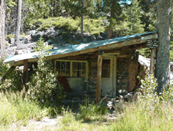 Photo of the Stone Cabin at the Rubicon Trail